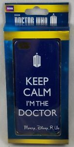 Dr Who Tardis Keep Calm I'm The Doctor iPhone 5/5S Snap Case Cell Phone Cover