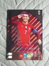 Panini card XXL-CR Russia 2018 Adrenalyn XL Limited Edition Cristiano Ronaldo