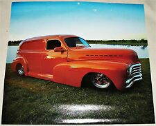 1948 Chevrolet Delivery truck print (salmon, modified)