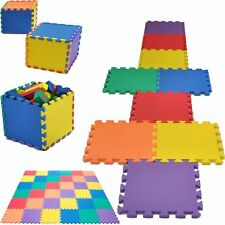 18PCS KIDS BABY EVA INTERLOCKING SOFT FOAM ACTIVITY PLAY MAT SET TILES FLOOR