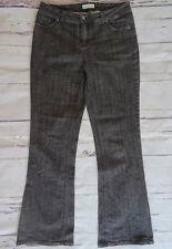 Long Tall Sally Bootcut Dark Grey Jeans UK 12 W32 L33