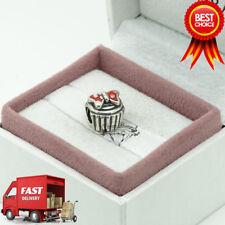 Genuino PANDORA, Disney, Minnie cupcake, pastel, pulsera con dijes 791463EN09