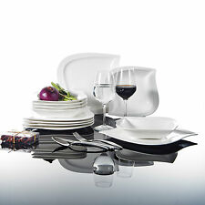 Malacasa Elvira 12X Ceramic Dinnerware Combi-Set China Kitchen Soup Dinner Plats