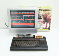MSX 2 Panasonic FS-A1 Game Personal Computer Black Boxed Working