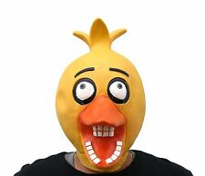 Five Nights At Freddy's Costume Baby Chica Full Halloween Mask FNAF Cosplay