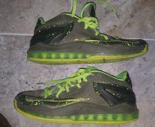Nike Lebron 11 XI Low Dunkman Air Max, Volt Green, 642849-200 Men's Size US8 UK7