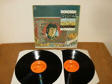 DONOVAN : SUNSHINE SUPERMAN / IN CONCERT - 2 LP HOLLAND - EPIC EPC 22016 - 1976