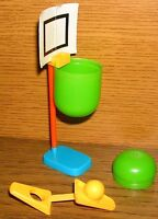 Ü-Ei Wer siegt beim Basketball Anfang 1980er Jahre Kapsel-Spielzeug
