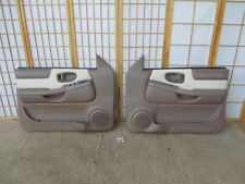98-05 Chevy Trailblazer BONE & TAN Left & Right Power Interior Door Panel SET