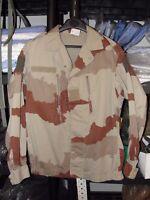 Veste F2 Armée Française taille 96L ( M ) camouflage Daguet désert camo sable