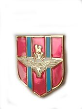 Parachute Regiment Lapel Military Badge Shield Shape