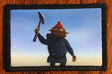 Yukon Cornelius Morale Patch Military Tactical Army Flag USA Badge Hook