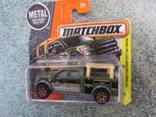 Matchbox 2017 # 047/125 '15 FORD f-150 contratista Camión Verde Construcción