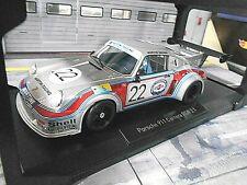 PORSCHE 911 RSR 2.1 Turbo #22 Le Mans 1974 Martini Müller v. Lennep Norev 1:18