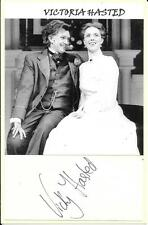 VICTORIA HASTED - ACTRESS - TUMBLEDOWN - SCOOP - AUTOGRAPH & PHOTOGRAPH COA