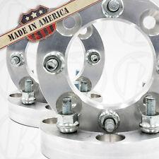 "4 USA | ATV Honda Kawasaki Suzuki Wheel Adapters / 1"" Spacers | 4x110 to 4x137"
