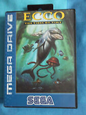 SEGA MEGADRIVE & SEGA GENESIS ECCO THE TIDES OF TIME - BOXED NEW