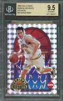 1996 coll's edge radical recruits holofoil #14 STEVE NASH rookie card BGS 9.5