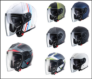 Caberg Flyon Open Face Motorcycle Bike Scooter Jet Helmet |All Color & Size|