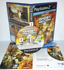 GHOST RECON II 2 - Playstation 2 Ps2 Play Station Bambini Gioco Game