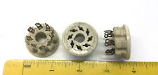 1 NOS Vintage 8-pin Ceramic Vacuum Tube Socket