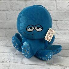 "Fiesta Blue OCTOPUS 9"" Sparkly Plush Stuffed Animal Toy"