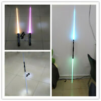 2PC 2 in 1 Star Wars Sword Lightsaber Dueling Force 16 Colors With Connector DHL