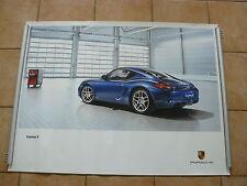 Porsche Cayman S - Typ 987c - POSTER 101 x 76 cm Plakat 07.2010
