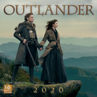 Outlander 2020 Square Wall Calendar by Browntrout Free Post