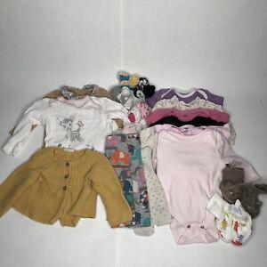 Baby Girls 3-6 Months Clothes Socks Bundle Job Lot