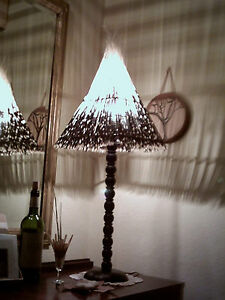Porcupine Quill Long Pyramid Lampshade excluding stand 40% OFF SUMMER SALE !!