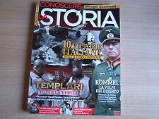 CONOSCERE LA STORIA COLLECTION=N°25/26/27=TEMPLARI=ROMMEL=BERLINO 1936=SPIE