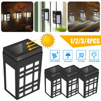 Waterproof LED Solar Light Motion Sensor Wall Light Outdoor Garden Yard Lamp USA