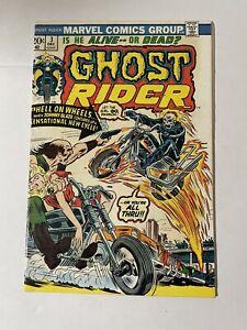 Ghost Rider #3 (Vol 1 - 1973) 1st App of GR New Powers Key Marvel Comic FN+