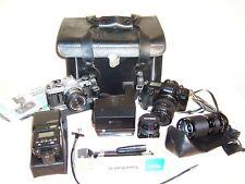 Estate Group Canon EOS-630 AE-1 Cameras Vivitar Lenses Polaroid 635-CL Speedlite