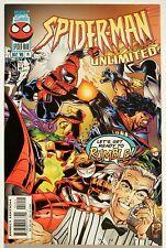 Spiderman Unlimited #14 (Dec. 96') NM- (9.2) Cardiac, Joystick, & Chance Apps.
