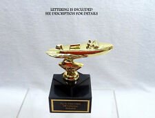 METAL OUTBOARD PLEASURE BOAT TROPHY BOAT BOAT TROPHY PLEASURE BOAT TROPHIES  @@