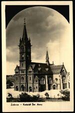 ZABRZE Hindenburg i. Schlesien * Kościół Św. Anny / Annakirche * sw Foto-AK