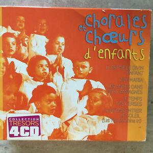 CHORALES ET CHOEURS D'ENFANTS - V. A. (F 4-CD-Box Vogue 82876 630172 / neu)