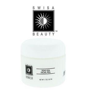 Swisa Beauty Dead Sea Facial Peel - Remove Whiteheads, Blackheads and Dead Skin