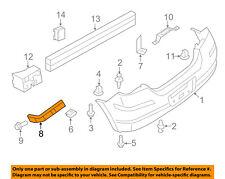 NISSAN OEM 07-12 Versa Rear Bumper-Side Bracket Right 85226EM30A