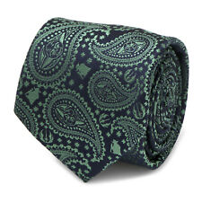 Star Wars Yoda Green Paisley Mens Tie, Officially Licensed