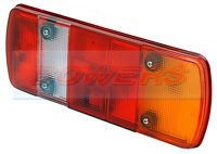 RUBBOLITE TRUCK-LITE 82570A MODEL M465 REAR COMBINATION TAIL LAMP LIGHT LENS