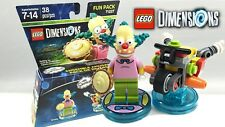 Lego Dimensions The Simpsons Fun Pack Bart Simpson 71211 and Krusty 71227