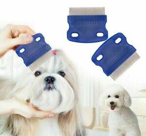 Nit comb Head Lice Metal comb nit Hair Pet Safe Flea comb 3 Pack