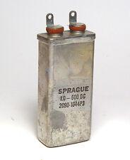 Sprague MP-CONDENSATORE 1 µF/600v Pio per high-end audio, NOS