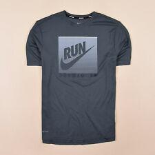 Nike Herren T-Shirt Shirt Classic Gr.M Running Dri-Fit Sport Blautöne 74437