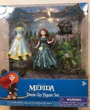 NEW Disney Princess Merida Magic Clip Magiclip Dress Polly Pocket Doll Set