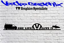 Volkswagen VW Window Bumper logo Stickers Transporter T6 T5 T4 Campervan Surf