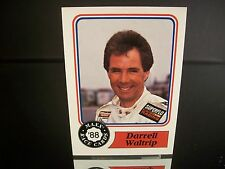 Rare Darrell Waltrip #17 Tide Maxx Race Cards 1988 Rookie Card #10